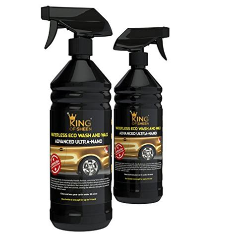 Waterless Wax 1ltr waterless car wash products uk review