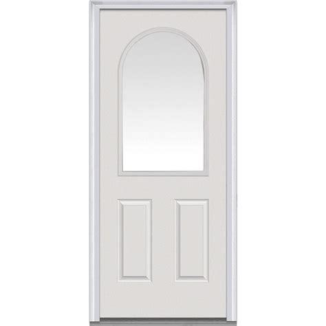 Mmi Door 32 In X 80 In Clear Glass Right Hand 1 2 Lite 32 X 73 Exterior Door