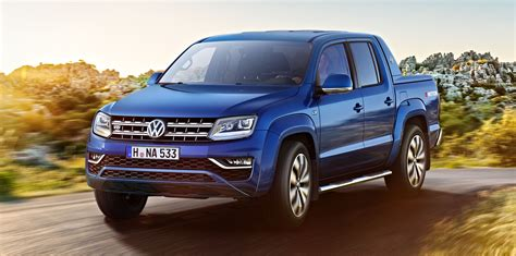 volkswagen new 2017 volkswagen amarok reveals new look interior photos