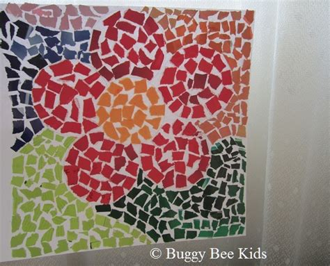 How To Make A Mosaic L by Buggy Bee Crafts For In Singapore February 2011