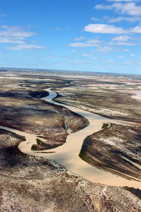 bureau of meteorology australia outback turns into an inland majestic aerial