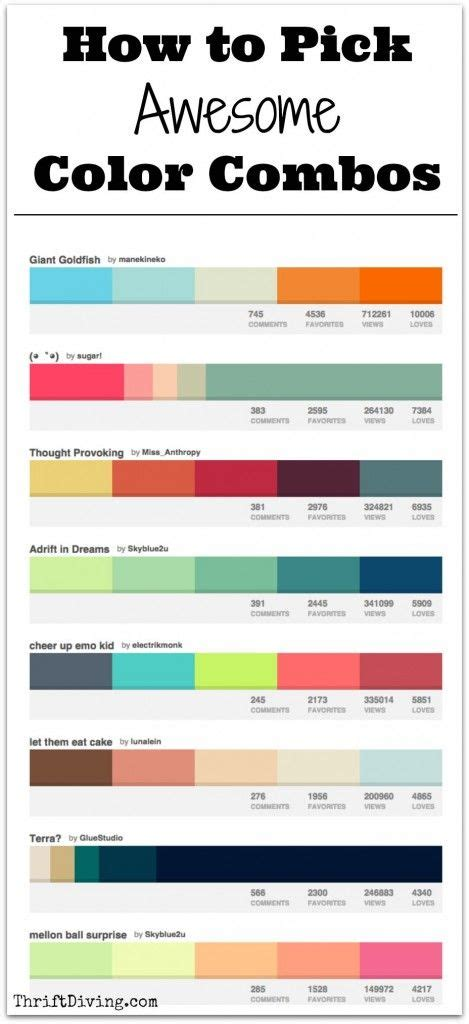 awesome colors how to awesome color combos thrift color combos