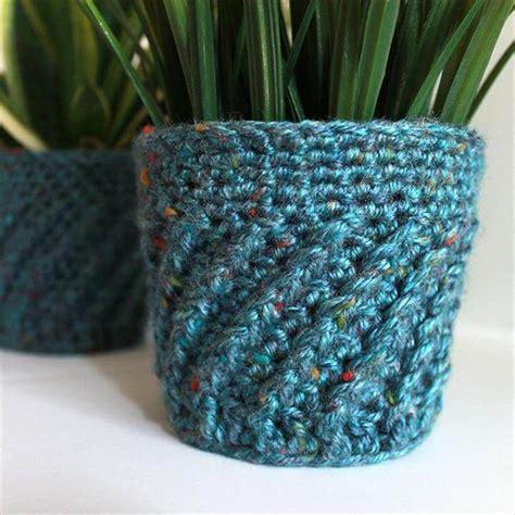 crochet flower pot patterns
