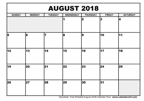 printable calendar august 2018 august 2018 calendar september 2018 calendar