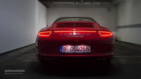 porsche night 2015 porsche 911 targa review autoevolution