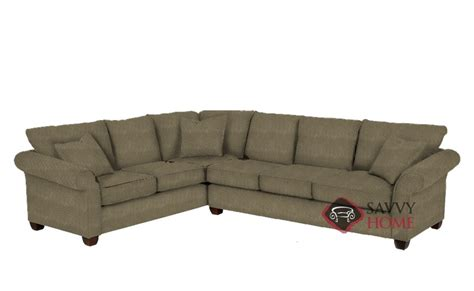 stanton sectional 664 fabric true sectional by stanton is fully customizable