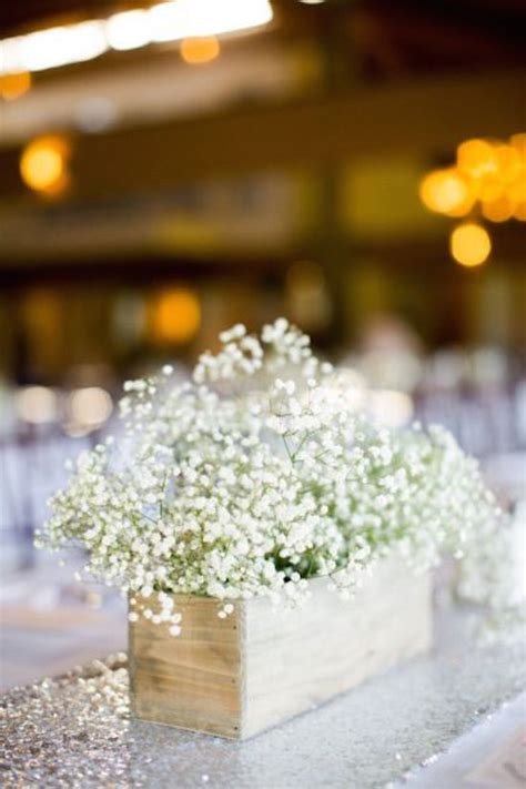 23 baby s breath wedding decor ideas classy and romantic