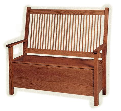 deacons bench amish american mission deacon s bench with storage