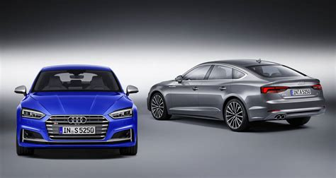 Audi A5 Farben by Official 2017 Audi A5 And S5 Sportback Gtspirit