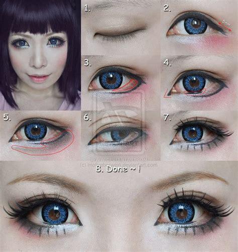 tutorial make up cosplay pemula 25 best ideas about anime eye makeup on pinterest anime