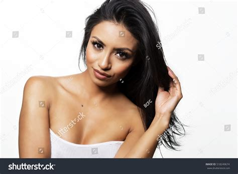 young exotic beauties beautiful exotic young woman stock photo 518249674 shutterstock