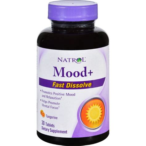tablets for mood swings natrol mood plus 30 fast dissolving tablets the natural