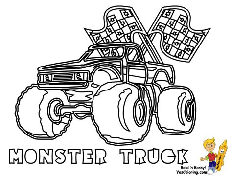 coloring pages race truck semi truck race coloring pages