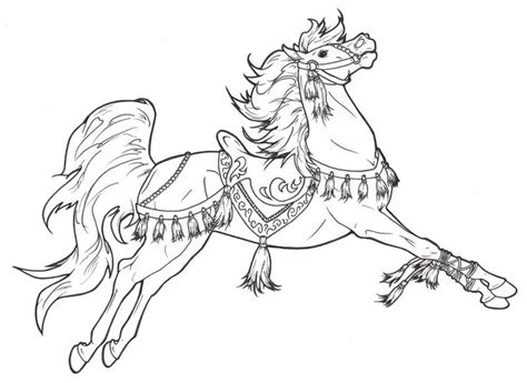pony coloring pages for adults 17 best images about coloring pages advanced carousel