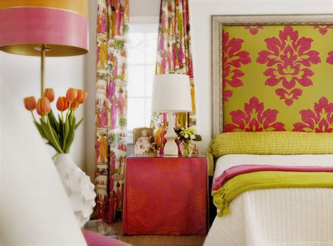 pink and green walls in a bedroom ideas chartreuse and gray walls lime green and fuchsia color