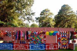 Circus Home Decor by Carnival Games 7 Fun Ways To Create A Carnival Themed