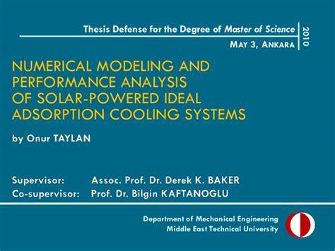 My Thesis Defense Presentation Dissertation Viva Presentation