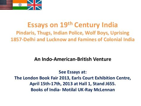 Essay On 21st Century India by Essays On 19th Century India