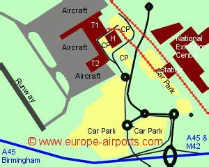 birmingham uk airport map birmingham airport bhx guide flights