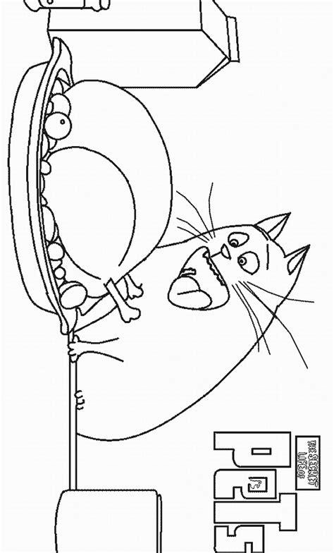 secret life  pets coloring pages