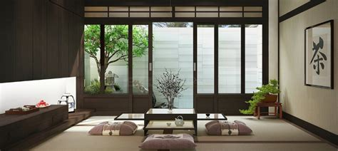 ways  add japanese style   interior design