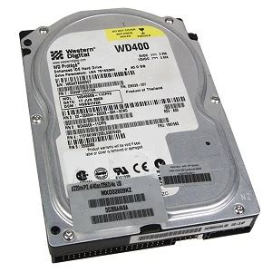 Hardisk Pc 40gb Western Digital 400eb 40gb Disk Drive Price