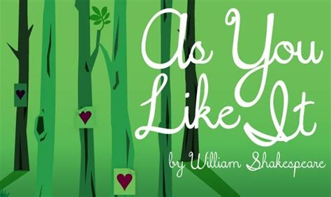 as you like it william shakespeare reading 2014