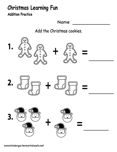 free printable worksheets for kindergarten christmas kindergarten christmas cookies worksheet printable