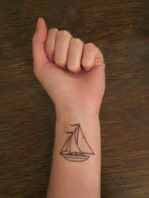 sailboat tattoo pinpoint
