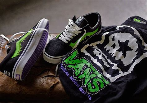 Vans Sk8 Hi X Magical Mosh Misfits Green a preview of the vans japan collection for fall 2016
