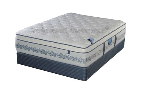 Mattress New by Restonic New Vienna Eurotop Mattress