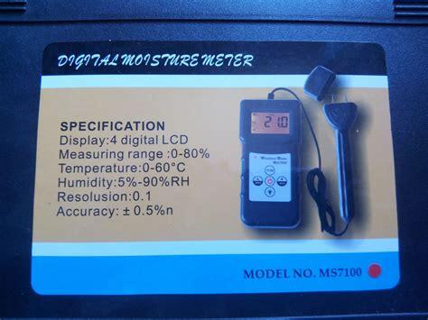 Tester Kadar Air Pada Kayu Wood Moisture Meter Dekko Ft 7928 jual alat ukur kadar air kayu dan bambu wood moisture meter ms7100 pda agar alat alat
