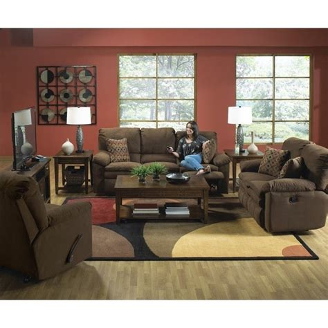 catnapper impulse reclining sofa catnapper impulse 3 piece reclining fabric sofa set in