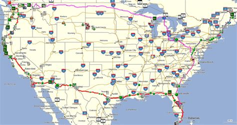 road trip maps of the usa road trip maps of the usa arabcooking me