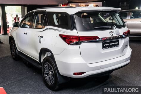 Toyota Fortuner Price In India India Bound 2016 Toyota Fortuner Launched In Malaysia