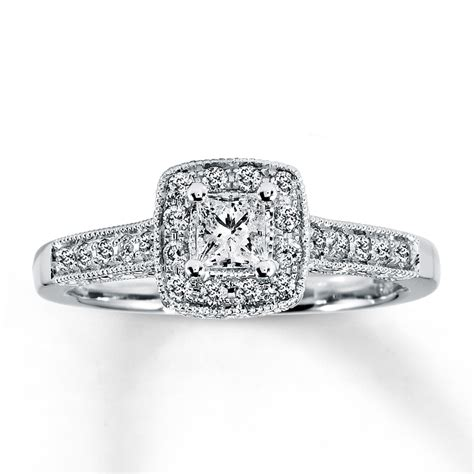 princess cut engagement rings a cut worth considering