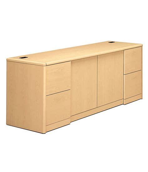 hon desks 10700 series 10700 series double credenza h10742 hon office furniture