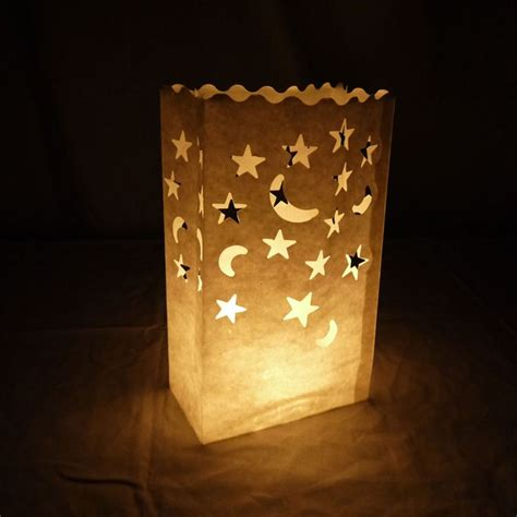 How To Make Paper Bag Lanterns - 25 best ideas about paper bag lanterns on