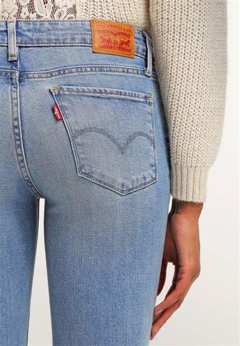 Levi S Womens 711 0065 Skinny Light Wash Slim Denim Jeans