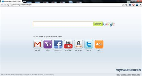 My Search How To Remove The My Web Search Virus Mywebsearch