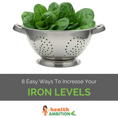 8 Holidays Which Will Boost Your Health by 8 Ways To Increase Your Iron Levels
