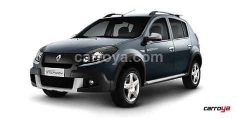 nuevo avaluo vehiculos colombia renault stepway 1 6 base 2015 nuevo precio en colombia
