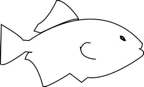 simple coloring pages fish simple fish coloring pages murderthestout