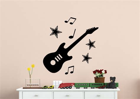 wall designs guitar wall express wall stickers