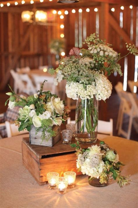 wedding table flower centerpieces pictures 20 great ideas to use wooden crates at rustic weddings tulle chantilly wedding