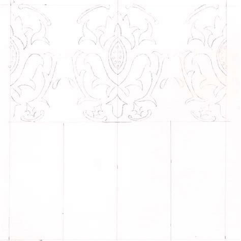 Make Tracing Paper - use a tracing paper trick to create seamless wallpaper