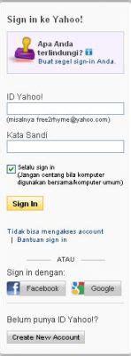 cara membuat email yahoo pelajaran tik email noviyanti