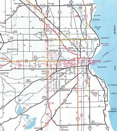 Wis Search Interstate Guide Interstate 894 Wisconsin