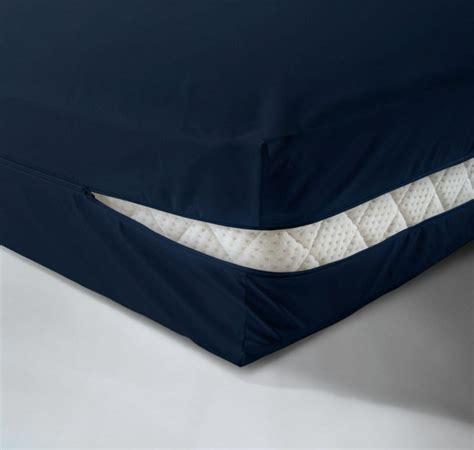 matratzenbezug 140x200 kaufen wasserdichter matratzenbezug in dunkelblau