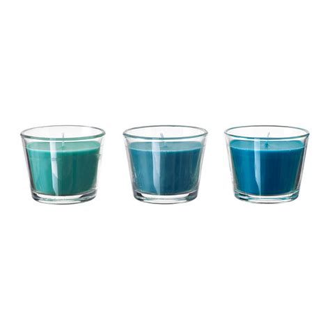 ikea bicchieri acqua br 196 cka candela profumata con vetro ikea